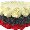 Scarlet and Gray Cake
