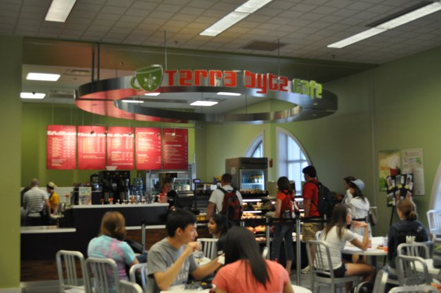 Terra Byte Cafe Menu